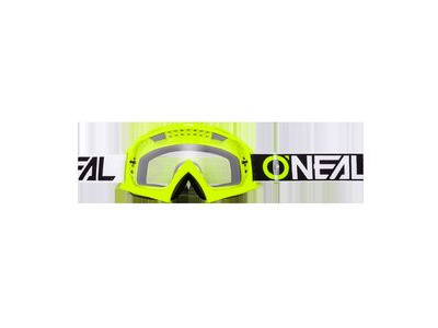ONeal b-10 Goggle Twoface Neon-Clear