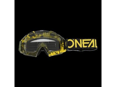 ONeal b-10 Goggle Pixel Neon/Green-Clear